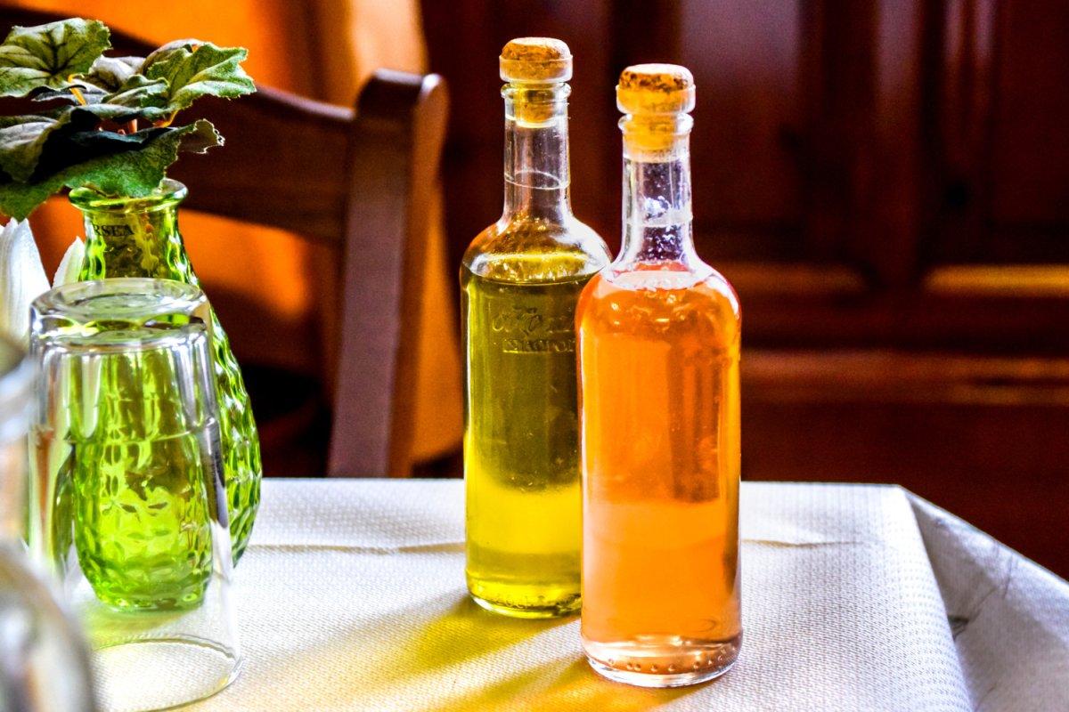buteleczki z oliwą
