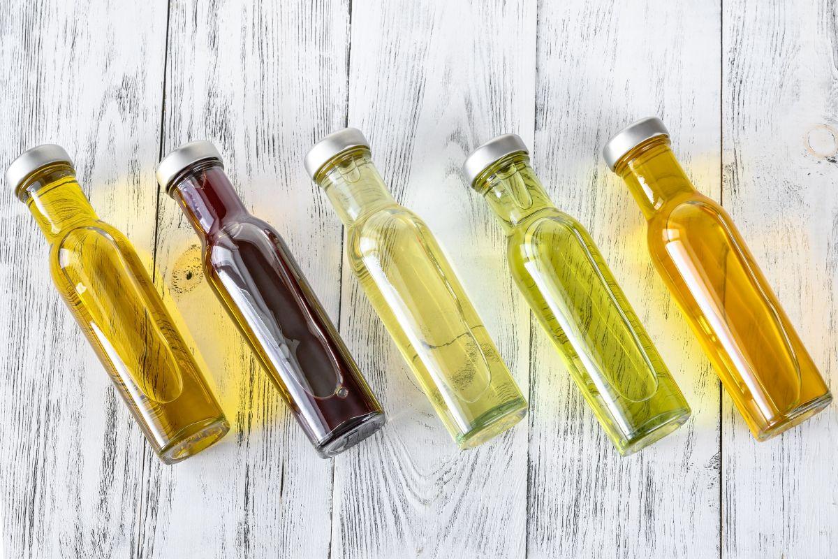 różnego typu oliwy z oliwek